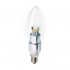 Clear Candle Bulb
